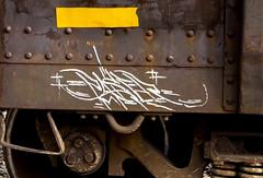 Paser (NoMasters) Tags: train graffiti graf trains freighttrains wyoming graff freight cheyenne 2012 wy freighttrain freights wyo monikers moniker benching