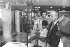 P.M. Yitzhak Rabin in the Israel Museum (Government Press Office (GPO)) Tags: 14