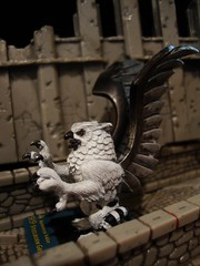 Steelborn Griffin (ridureyu1) Tags: toy toys actionfigure miniature rpg owl roleplayinggame griffin tigerstripes dreamscape valor reinforce wizardsofthecoast wotc toyphotography dreamblade steelborn sonycybershotdscw220 owlgriffin steelborngriffin