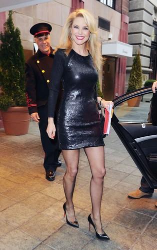 Christie Brinkley Tight Black Mini Dress 8 A Photo On Flickriver