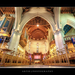 ChristChurch Cathedral, South Island, New Zealand :: HDR