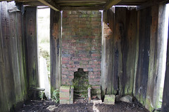 Inside hut showing the old fire place (Martin Pritchard) Tags: railway plate line hut layers cwm bala trawsfynydd prysor