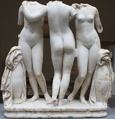 The Three Graces (donsutherland1) Tags: sculpture ny newyork art stone roman marble met metropolitanmuseum metropolitanmuseumofart metmuseum thethreegraces 2ndcenturyad flickraward imperialperiod rememberthatmomentlevel1