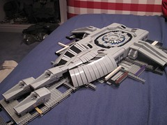 Assault Carrier WIPA (Benny Brickster) Tags: lego chief halo assault master carrier warthog covenant unsc