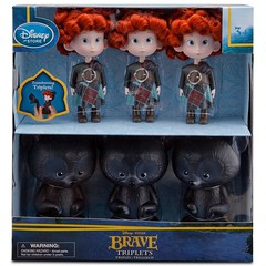 Triplets Brave Doll Set - Product Image #3 - Box (drj1828) Tags: set store doll disney pixar brave triplets