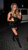 Katie Price, arriving at Playground Nightclub for Danielle Lloyd's hen night. Liverpool, England