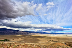 Owens Dry Lake (Dave Toussaint (www.photographersnature.com)) Tags: california ca travel usa cloud nature photoshop canon landscape march photo interestingness interesting day photographer cs2 cloudy picture explore socal adobe southerncalifornia lonepine hdr highdynamicrange 2012 owensvalley adjust infocus drylake denoise 60d topazlabs photographersnaturecom davetoussaint photoengine oloneo