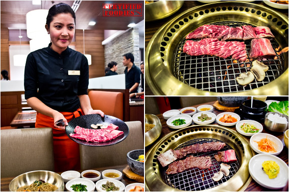 Seng Galbi at Sariwon - USDA choice beef short ribs