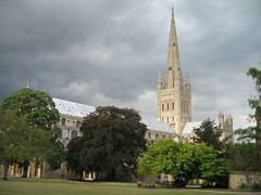 Norwich Cathedral (barnyz) Tags: uk england architecture cathedral gothic norfolk medieval norman spire norwich romanesque impressive