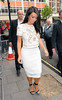 Kim Kardashian at the Radio 1 studios. London, England