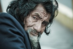 Eye of Emotion (Alex E. Proimos) Tags: poverty life portrait eye peru work hair beard living casa trabajo calle pain emotion lima homeless hard dirty sin shelter struggle heartache abigfave flickrdiamond virela2 virela3 virela4