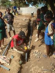 pip 5 running water line