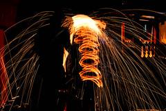 Light Paiting (Lukasan Ferreira) Tags: light color luz brasil photoshop painting toy fire nikon saopaulo laranja sp click bouy fotografia fogo menino tripe escuro brincadeira lightroom lukasan lukasan18 d3100 ligthpaintin