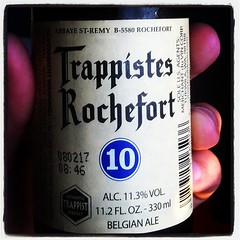This evening's selection #beer #trappístes #rochefort #belgian #ale