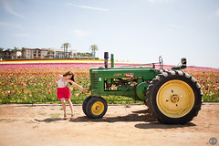 Week 19/52- Jump Start (EMIV) Tags: light portrait tractor flower canon john natural fields 5d carlsbad deere 35l