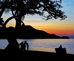 Sunset (~Bella189) Tags: sunset beach silhouette costarica gamewinner 15challengeswinner favescontestwinner challengegamewinner friendlychallenges fotocompetition fotocompetitionbronze agcgwinner herowinner storybookwinner pregamewinner favescontestrunnerup