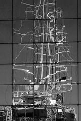 Distorted ship (Mikalf) Tags: sky bw france building window glass square ventana boat barco ship edificio vessel nobody line ciel cielo shape bateau cristal francia fenêtre bâtiment façade linea forme ligne verre carré forma fentre cuadrado mât mástil b‰timent scor faade carrž m‰t m‡stil