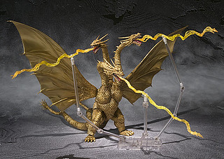 S.H.Monster Arts 系列的King Ghidorah