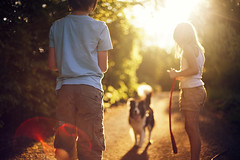 Sunshine (Stuart Stevenson) Tags: family light summer people dog sun hot colour sunshine backlight photography scotland country naturallight lensflare summerfun earlysummer eveninglight shallowdepthoffield hss canon50mmf14 clydevalley thanksforviewing ruralscotland canon5dmkii contrjour stuartstevenson happysliderssunday stuartstevenson2012