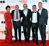 Jasmin Riggins, Gary Maitland, Ken Loach, Paul Brannigan and William Ruane UK premiere of 'The Angel's Share' at Cineworld Glasgow Glasgow, Scotland