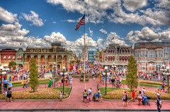 Main Street (grandalloliver) Tags: florida disneyworld hdr magickingdom grandalloliver