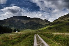 Luinne Bheinn - Knoydart, Scottish Highlands (Michael~Ashley) Tags: light mountains clouds scotland highlands nikon scottish munros knoydart bheinn luinne d3100 luinnebheinnknoydart