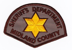 MI - Midland County Sheriff Old Patch (Inventorchris) Tags: county old cars ford public car mi justice office illinois paint peace cops michigan police pd safety il company criminal collections cop vehicle service crown law motor enforcement sheriff patch squad emergency job protection patches department officer patrol midland interceptor officers enforcment