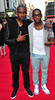 G Fresh and Tinie Tempah, right, arrive at the world premiere of iLL Manors on Wednesday May 30, 2012 in London. (Photo by Jon Furniss/Invision/AP)