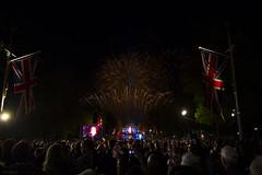 Fireworks Over Buckingham Palace (Christopher Marsh) Tags: sky london night jack fireworks jubilee flag union crowd royal palace queen buckingham