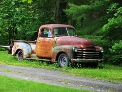 OLD 3100 (richie 59) Tags: chevrolet townofsaugertiesny townofsaugerties chevroletpickuptruck chevy3100 2012 june2012 june82012 3100 1951chevypickuptruck 1951chevytruck 1951chevy 19513100 wornout vehicle ustrucks ustruck usa us unitedstates ulstercountyny ulstercounty twodoor truck trees spring rustytruck rustyoldtruck rustychevytruck rustychevy rusty rustedout rusted rust rural richie59 pickuptruck pickup outside oldtruck oldrustytruck oldchevytruck oldchevy old nystate newyorkstate motorvehicles midhudsonvalley longabandoned hudsonvalley headlights grill greentruck gmtrucks gmtruck gm generalmotors frontend fadedpaint faded crusty corroded chrome chevys chevrolettrucks chevrolettruck chevy automobile americantruck americanpickuptruck america 2door 1950strucks 1950struck