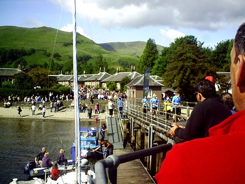Luss for the Olympic Flame