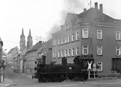 99 1585-1 shunting at Mugeln (RhinopeteT) Tags: germany steam east oschatz mugeln