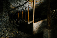 mule stalls (Sam Scholes) Tags: old shadow abandoned digital dark underground utah nikon mine historic mining coal mules stalls mule hiawatha d300 kingcoal kingmine usfco unitedstatesfuelcompany mulestalls