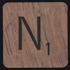 Scrabble Coaster Letter N (Leo Reynolds) Tags: canon eos iso100 n scrabble letter nnn 60mm f80 coaster oneletter letterset 0125sec 40d hpexif grouponeletter xsquarex xleol30x