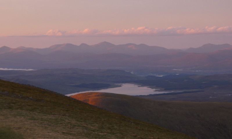Lawers Range and Loch Ericht