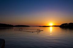 Mljet at sunset (jp3g) Tags: ocean sunset sun croatia calm panasonic colourful g3 dalmatian adriatic waterpolo mljet