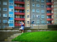 Stranger In 60's Paradise - Lincoln Green - Burmantofts - Leeds (James W Bell (Good Honest Iago) - Leeds) Tags: towerblock highrise councilflats socialhousing midcenturyhousing flats innercity deprivedarea councilestate deprivation towerblocks housing brutalism 50s 60s civilarchitecture midcentury