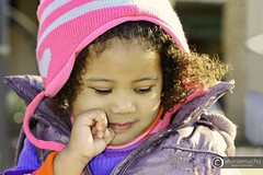 Teresa (alvin lamucho ) Tags: pink winter sunlight cute girl sunshine fashion happy photography daylight toddler purple photoshoot gap adorable naturallight jacket littlegirl cheerful bonnet zara benetton alvinlamucho teresamcclarty