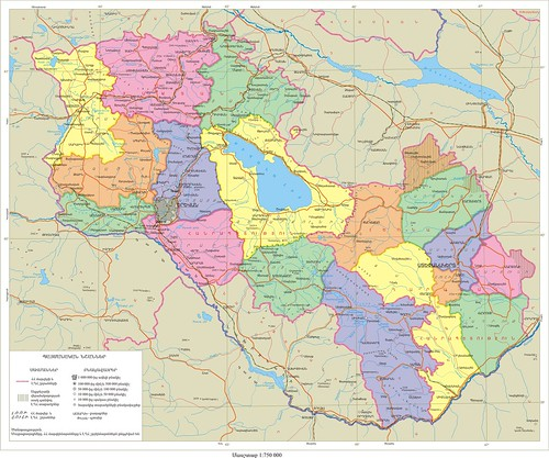 "Armenia Administrative Large Map <a style=""margin-left:10px; font-size:0.8em;"" href=""http://www.flickr.com/photos/119555805@N07/13242664745/"" target=""_blank"">@flickr</a>"