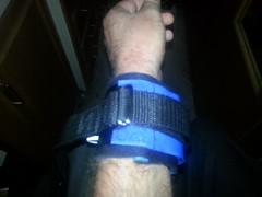posey TAT straps 7 (strap-wizard) Tags: wrist velcro tat straps nylon cuffs restraints posey drings neoprene