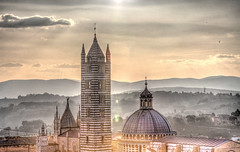 Siena Cathedral (2) (Graphiaphoto) Tags: italy church canon cathedral tuscany siena hdr