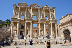 Library of Celsus-Ephesus, Turkey (andyteach) Tags: ephesus celsuslibrary ephesusturkey libraryofcelsus libraryofcelsusephesus ancientruinsinturkey
