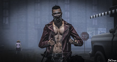 You Want Fight ? ( c, ONLY c) Tags: man pose photography mesh body zombie horror badboy tmp roleplay cuir cerberus tmd
