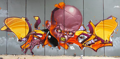 """SEZ """"UNdead WriTTers"""" (SRCARAMELOS) Tags: street new streetart colour yellow inca soldier skull spain colours candy no yes yo colores spray urbanart drugs satan undead cans sez cyrus eds dope sick dans candyman caramelos cain infierno 2016 srcaramelos instagram instagraff edsick incain instaporn instagraffiti"""