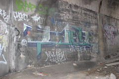 Dze (NJphotograffer) Tags: new graffiti aids nj crew jersey graff inkhead dze dzel