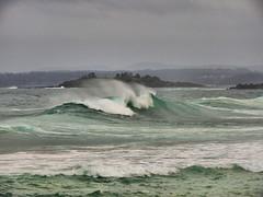Rough Sea III (elphweb) Tags: ocean sea seaside waves bigwaves roughsea bigocean falsehdr