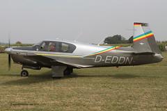 D-EDDN - 1963 build Mooney M.20C Mark 21, taxiing for departure at Tannheim during Tannkosh 2013 (egcc) Tags: mooney m20 tannheim 2595 2013 tannkosh m20c edmt deddn mark21
