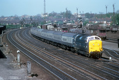 English Electric Type 5 - 55007 (dgh2222) Tags: york yard class 55 deltic 55007 dringhouses