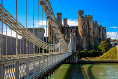 Conwy Castle, Wales (Zakapi0r) Tags: uk travel bridge travelling castle water wales architecture canon eos spring travels europa europe britain 5 united great north kingdom wideangle traveller di mk2 5d tamron f28 conwy mkii markii 2016 mark2 2875 walia mrzphotography