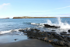 Isle of Skye (hazelsoo) Tags: sea landscape scotland highlands scenery view isleofskye wave highland seaview bluesea